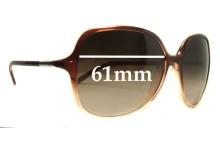 Sunglass Fix Sunglass Replacement Lenses for Prada SPR18M - 61mm Wide