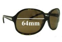 Sunglass Fix Sunglass Replacement Lenses for Prada SPR21I - 64mm Wide
