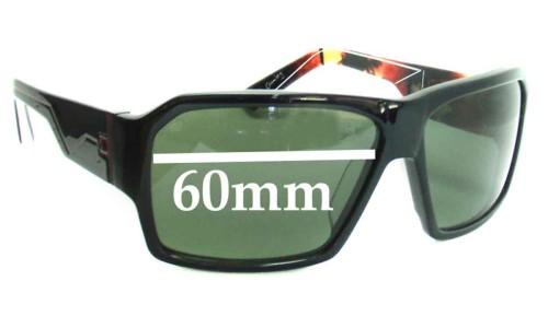 Sunglass Fix Sunglass Replacement Lenses for Quiksilver Shift - 60mm Wide