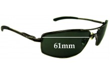 Sunglass Fix Sunglass Replacement Lenses for R.M. Williams PA708 - 61mm Wide