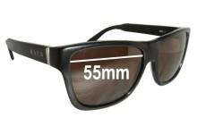 Sunglass Fix Sunglass Replacement Lenses for Raen Noval - 55mm Wide