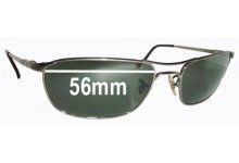 Sunglass Fix Sunglass Replacement Lenses for Ray Ban RB3132 - 56mm Wide