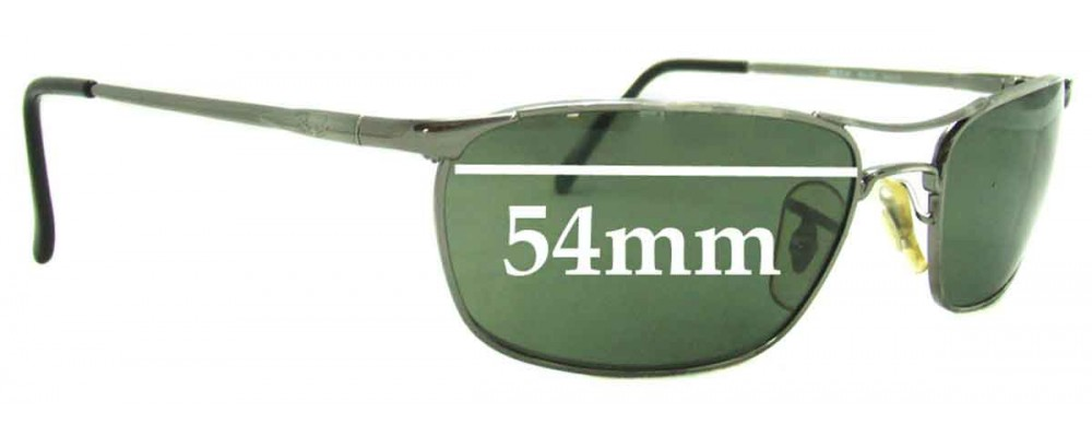 bb5f9b75bd Ray Ban RB3132 Sunglass Replacement Lenses - 54mm Wide