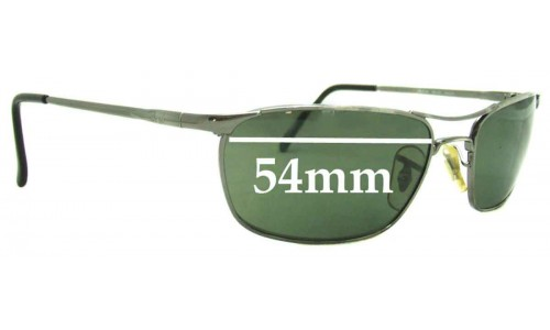 Sunglass Fix Sunglass Replacement Lenses for Ray Ban RB3132 - 54mm Wide