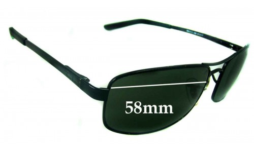 Sunglass Fix Sunglass Replacement Lenses for Ray Ban RB3212 - 58mm Wide