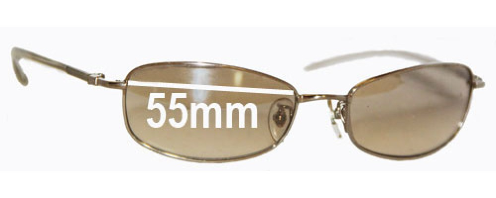 Sunglass Fix Sunglass Replacement Lenses for Ray Ban RB3231 - 55mm Wide