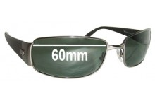 Sunglass Fix Sunglass Replacement Lenses for Ray Ban RB3237 - 60mm Wide