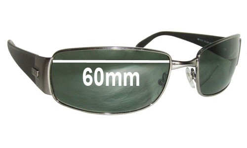 Sunglass Fix Sunglass Replacement Lenses for Ray Ban RB3237 - 60mm across