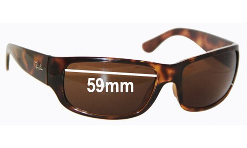 Sunglass Fix Sunglass Replacement Lenses for Ray Ban RB4095 -  59mm wide