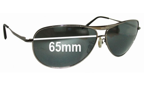 Sunglass Fix Sunglass Replacement Lenses for Ray Ban RB8015 - 65mm Wide