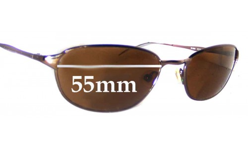 Sunglass Fix Sunglass Replacement Lenses for Ray Ban RB3023 - 55mm Wide
