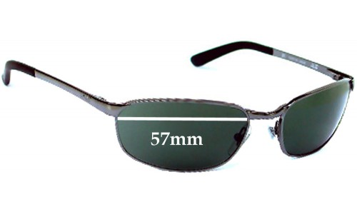 Sunglass Fix Sunglass Replacement Lenses for Ray Ban RB3175 - 57mm Wide