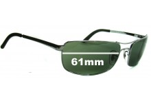 Sunglass Fix Sunglass Replacement Lenses for Ray Ban RB3212 - 61mm Wide