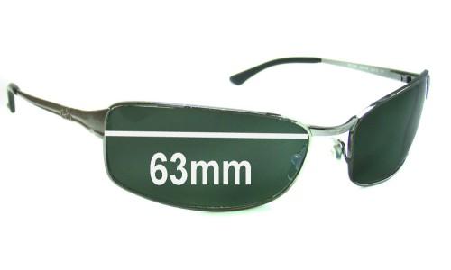 Sunglass Fix Sunglass Replacement Lenses for Ray Ban RB3269 63mm Sunglass Replacement Lenses