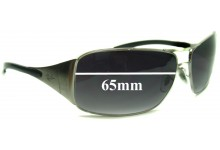 Sunglass Fix Sunglass Replacement Lenses for Ray Ban RB3320 Highstreet - All models except 41-71 & 042-8Z - 65mm Wide