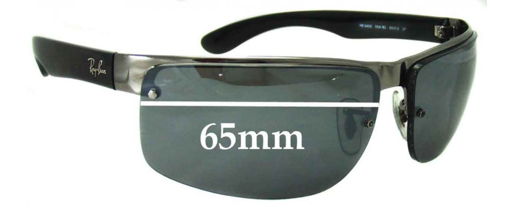 ray ban sunglasses lenses gwhe  Ray Ban RB3403 Sunglass Replacement Lenses
