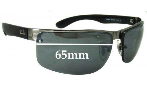 Sunglass Fix Sunglass Replacement Lenses for Ray Ban RB3403 - 65mm Wide