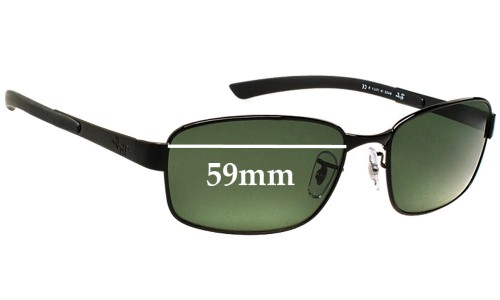 Sunglass Fix Sunglass Replacement Lenses for Ray Ban RB3413 - 59mm Wide