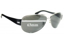Sunglass Fix Sunglass Replacement Lenses for Ray Ban RB3467 - 63mm Wide