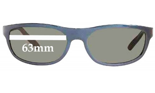 Sunglass Fix Sunglass Replacement Lenses for Ray Ban RB4003 -  63mm