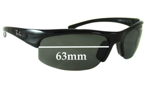 Sunglass Fix Sunglass Replacement Lenses for Ray Ban RB4039 - 63mm Wide