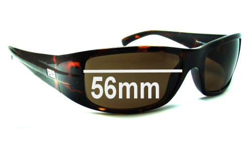 Sunglass Fix Sunglass Replacement Lenses for Ray Ban RB4069 -  56mm Wide