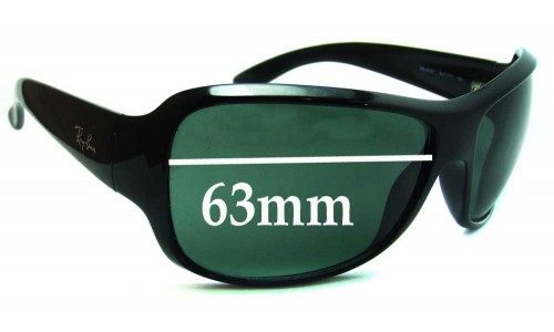 Sunglass Fix Sunglass Replacement Lenses for Ray Ban RB4097 - 63mm wide