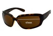 Sunglass Fix Sunglass Replacement Lenses for Ray Ban RB4102 - 63mm Wide