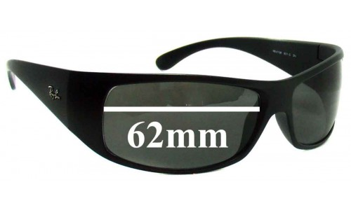 Sunglass Fix Sunglass Replacement Lenses for Ray Ban RB4108 - 62mm Wide