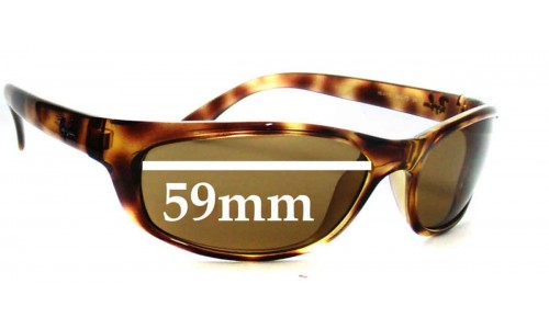 Sunglass Fix Sunglass Replacement Lenses for Ray Ban RB4115 - 59mm wide