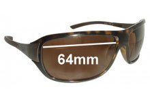 Sunglass Fix Sunglass Replacement Lenses for Ray Ban RB4120 - 64mm Wide