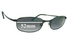 Sunglass Fix Sunglass Replacement Lenses for Ray Ban RB3162 Sleek - 52mm