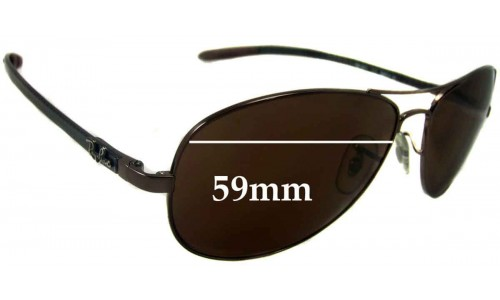 Sunglass Fix Sunglass Replacement Lenses for Ray Ban RB8301 Tech - 59mm wide  *Please measure as there are several models*