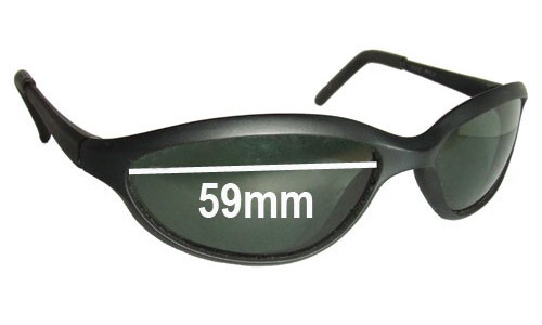 Sunglass Fix Sunglass Replacement Lenses for Ray Ban W2967 - 59mm wide