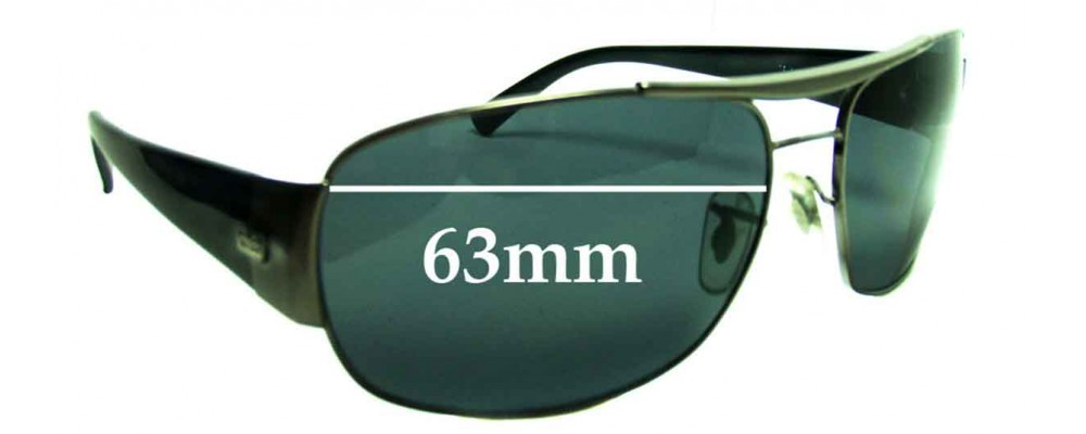 Sunglass Fix Sunglass Replacement Lenses for Ray Ban RB3357 - 63mm Wide