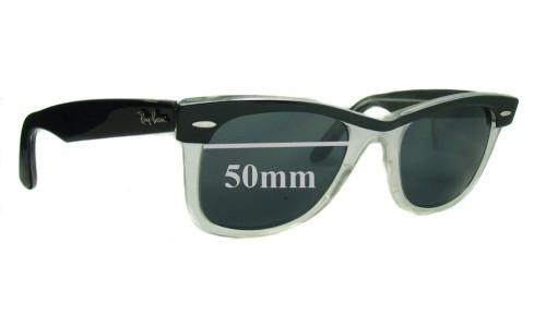 Sunglass Fix Sunglass Replacement Lenses for Ray Ban RB2143 Wayfarer II 50mm wide lenses