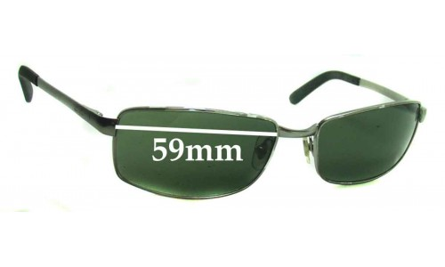 Sunglass Fix Sunglass Replacement Lenses for Ray Ban RB3194 - 59mm Wide