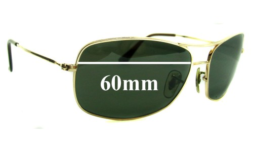 Sunglass Fix Sunglass Replacement Lenses for Ray Ban RB3322 - 60mm Wide