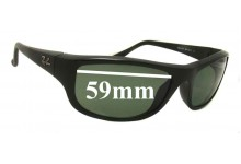 Sunglass Fix Sunglass Replacement Lenses for Ray Ban RB4119 - 59mm Wide