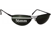 Sunglass Fix Sunglass Replacement Lenses for Ray Ban RB3131 - 56mm Wide