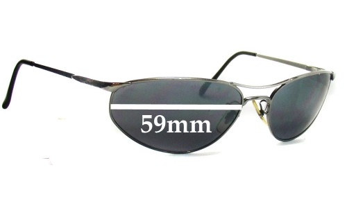 Sunglass Fix Sunglass Replacement Lenses for Ray Ban RB3131 - 59mm Wide