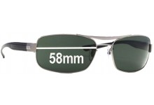 Sunglass Fix Sunglass Replacement Lenses for Ray Ban RB3302 - 58mm Wide
