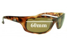 Sunglass Fix Sunglass Replacement Lenses for Ray Ban RB4026 Shot Square - 60mm Wide