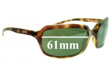 Sunglass Fix Sunglass Replacement Lenses for Ray Ban RB4116 - 61mm Wide