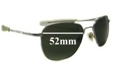 Sunglass Fix Sunglass Replacement Lenses for Randolph Engineering Aviator REUSA - 52mm Wide