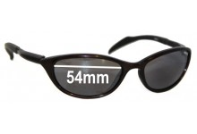 Sunglass Fix Sunglass Replacement Lenses for Red X 8009 - 54mm Wide
