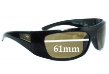 Sunglass Fix Sunglass Replacement Lenses for Rip Curl Bells  - 61mm Wide
