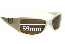 Sunglass Fix Sunglass Replacement Lenses for Rip Curl Silveira - 59mm Wide