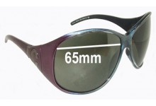Sunglass Fix Sunglass Replacement Lenses for Roberto Cavalli Atteone RC315 - 65mm Wide