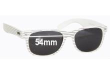 Sunglass Fix Sunglass Replacement Lenses for Roc 800W Pilot -  54mm Wide